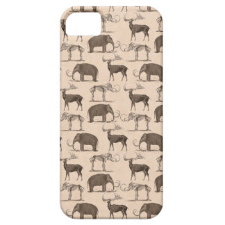 Pre-Historic Mammals Megaceros and Woolly Mammoth iPhone 5 Case