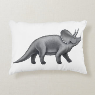 Pre-Historic Triceratops Dinosaur Pillow