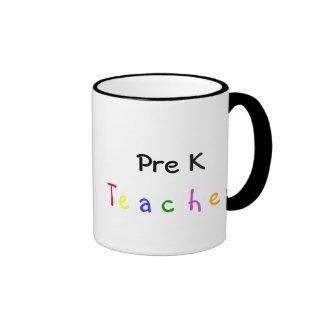 Pre K Teacher Mug