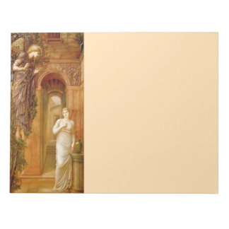 Pre-Raphaelite Angel 11X8.5 inch Notepad