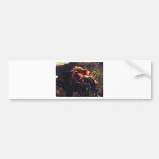 Pre Raphaelites - La Belle Dame Sans Merci Bumper Sticker