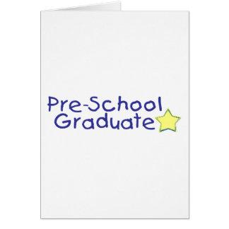 Pre-School Graduate (blue) Card