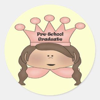 Pre-School Graduation Gifts Round Sticker