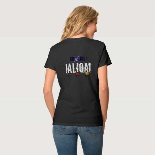 Pre-Shrunk Nano V-Neck HQ Named NB Shirt (Jaliqai)