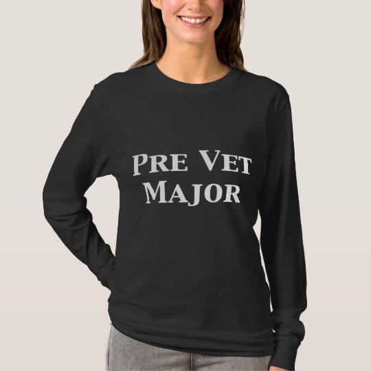 Pre Vet Major Gifts T-Shirt