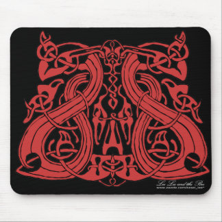 Pre Viking Red, mousepad