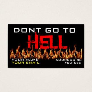 Preacher's Business Card