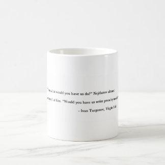 Preachy novels coffee mug