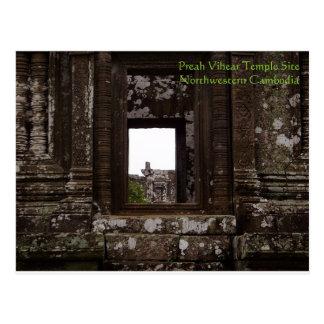Preah Vihear Temple, Cambodia Postcard