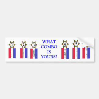Preamble Tags Bumper Sticker