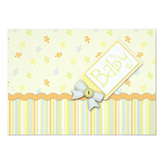 Precious Baby Invitation Card