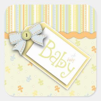 Precious Baby Square Sticker