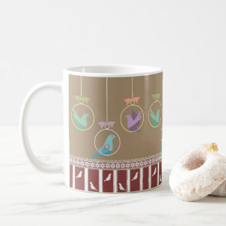 Precious Bird Design on Coffee Mug