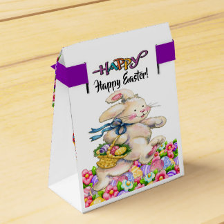 Precious Bunny Easter Container - See Front Favor Box