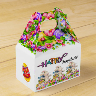 Precious Bunny Easter Container - See Reverse Favor Box