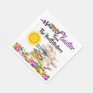Precious Bunny Easter Party Goods Napkin Disposable Napkin