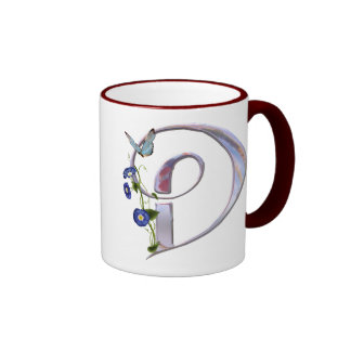 Precious Butterfly Initial D Mugs