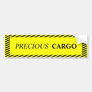 Precious Cargo Bumper Sticker