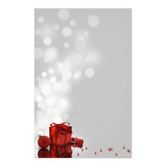 Precious Christmas Present - Stationery Letterhead