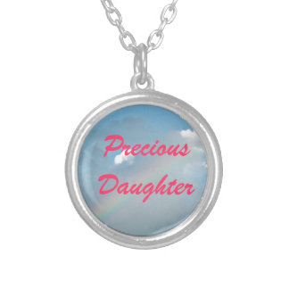 Precious Daughter Silver Plated Necklace