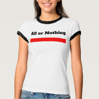 Precious Divinty Music, All or Nothing concert T T-Shirt