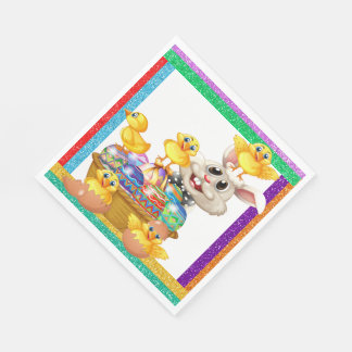Precious Easter Bunny Napkins Matching Products