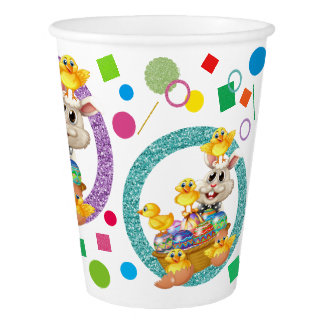Precious Easter Party Goods Paper Cups Paper Cup