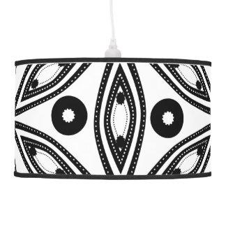 Precious in black and white pendant lamps