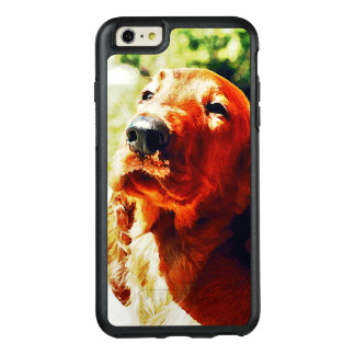 Precious Irish Setter Puppy OtterBox iPhone 6/6s Plus Case