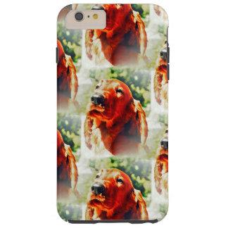 Precious Irish Setter Puppy Tough iPhone 6 Plus Case