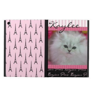 Precious Kittens Paris Theme Cover For iPad Air