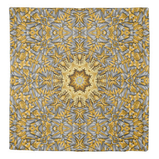 Precious Metal Kaleidoscope    Duvet Covers