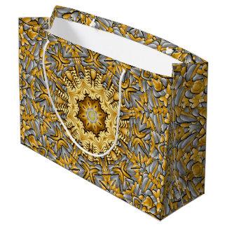 Precious Metal  Vintage Kaleidoscope Gift Bags