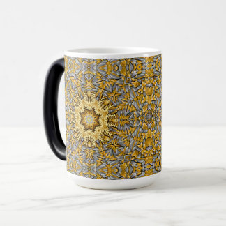 Precious Metal Vintage Kaleidoscope Morphing Mug