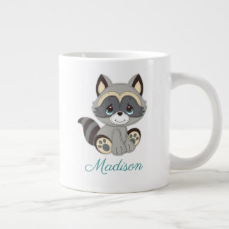 Precious Moments | Woodland Baby Raccoon Large Coffee Mug