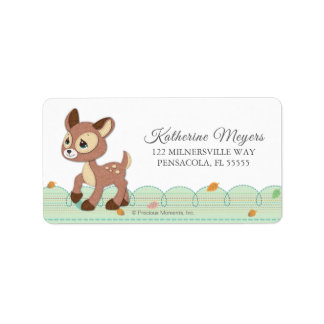 Precious Moments | Woodland Baby Shower Label