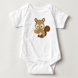 Precious Moments | Woodland Baby Squirrel Baby Bodysuit