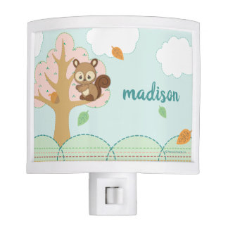 Precious Moments | Woodland Baby Squirrel Night Lights