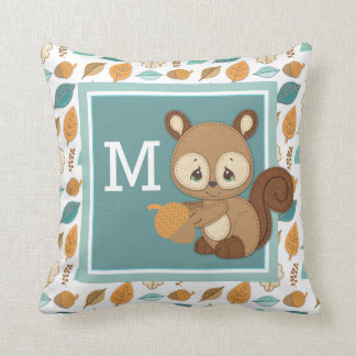 Precious Moments | Woodland Baby Squirrel Throw Pillow