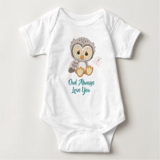 Precious Moments | Woodland Owl Always Love You Baby Bodysuit