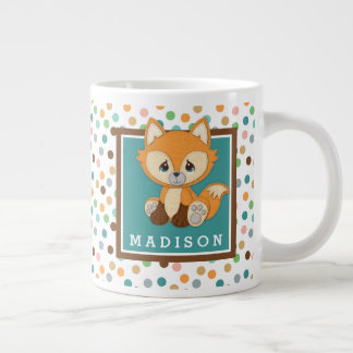 Precious Moments | Woodland Sweet and Clever Fox Large Coffee Mug