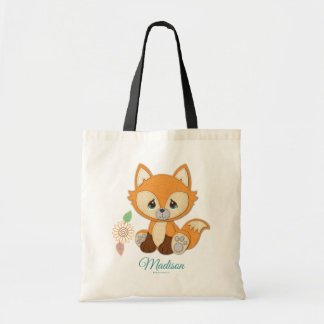 Precious Moments | Woodland Sweet and Clever Fox Tote Bag