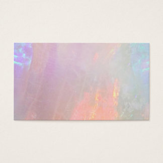 Precious opal business card