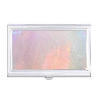 Precious opal business card case