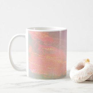 Precious opal coffee mug