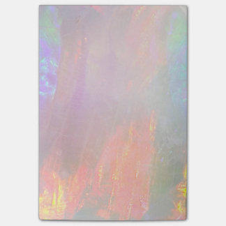 Precious opal post-it notes