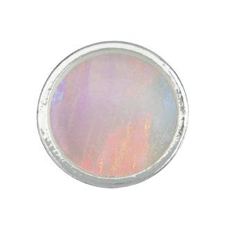 Precious opal ring