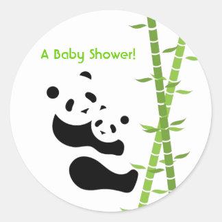 Precious Panda Bears Sticker