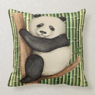 Precious Panda Pillow - See Back