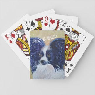 PRECIOUS PAPILLON PLAYING CARDS